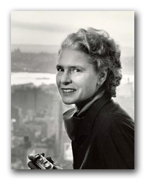 Margaret Bourke-White, portrait ©